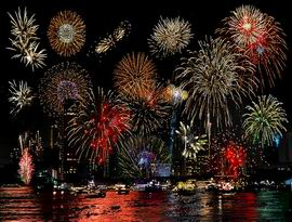 Resize of colourful-fireworks-at-sea